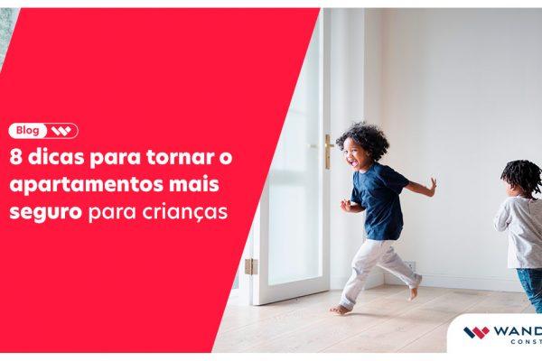Apartamento seguro para crianças