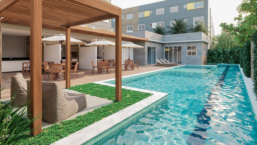 piscina - Ares de Cruzeiro
